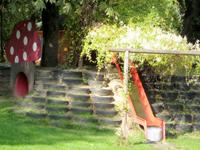 Spielplatz Rutsche