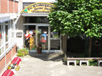 Eingang Kindergarten